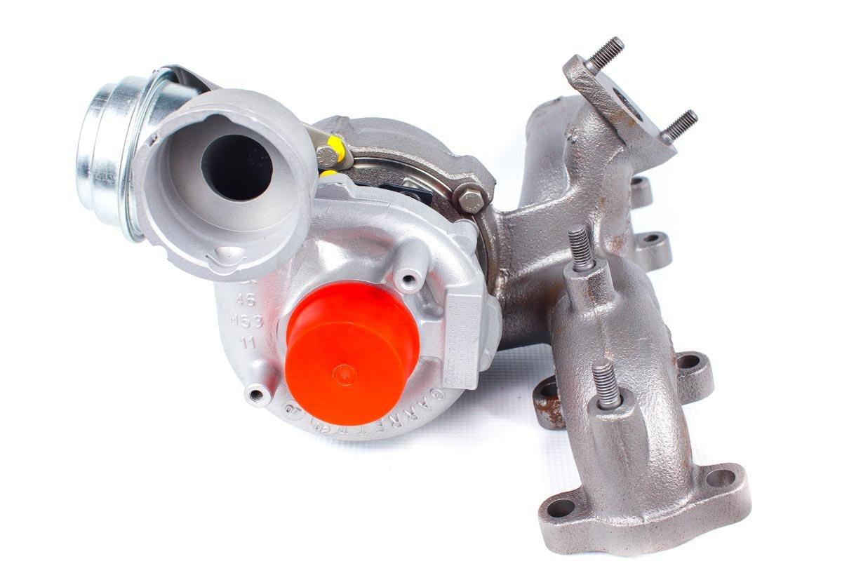 Turbo numer {numerglowny} po przeprowadzeniu regeneracji w specjalistycznej pracowni regeneracji turbosprężarek przed odesłaniem do kontrahenta