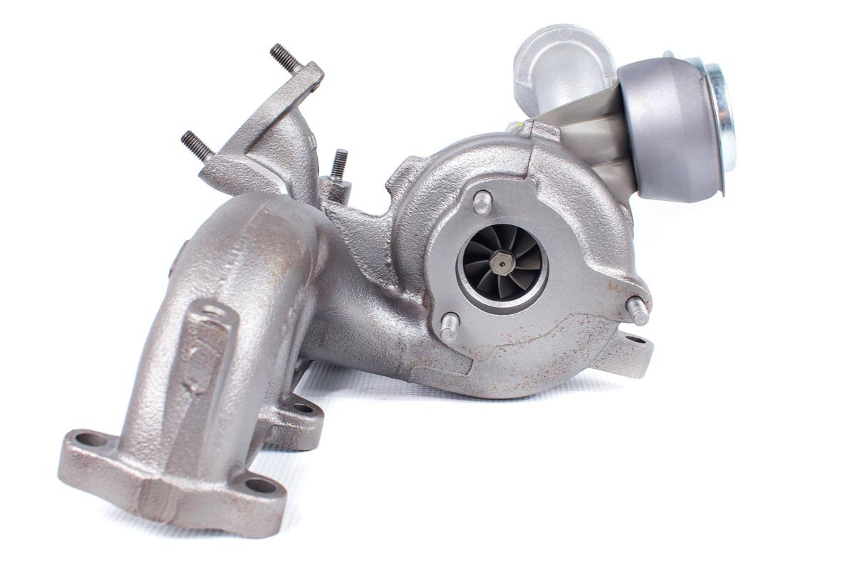 Turbo, układ doładowania o numerze {numerglowny} po przeprowadzeniu regeneracji w profesjonalnej pracowni regeneracji turbo przed wysłaniem do kontrahenta