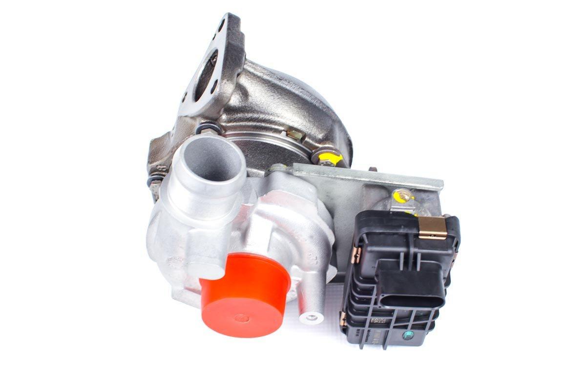 Turbo, układ doładowania o numerze {numerglowny} po przeprowadzeniu regeneracji w najwyższej jakości pracowni regeneracji turbosprężarek przed odesłaniem do Klienta