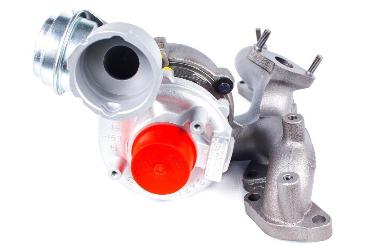 Turbo numer {numerglowny} po przeprowadzeniu regeneracji w profesjonalnej pracowni regeneracji turbosprężarek przed odesłaniem do warsztatu