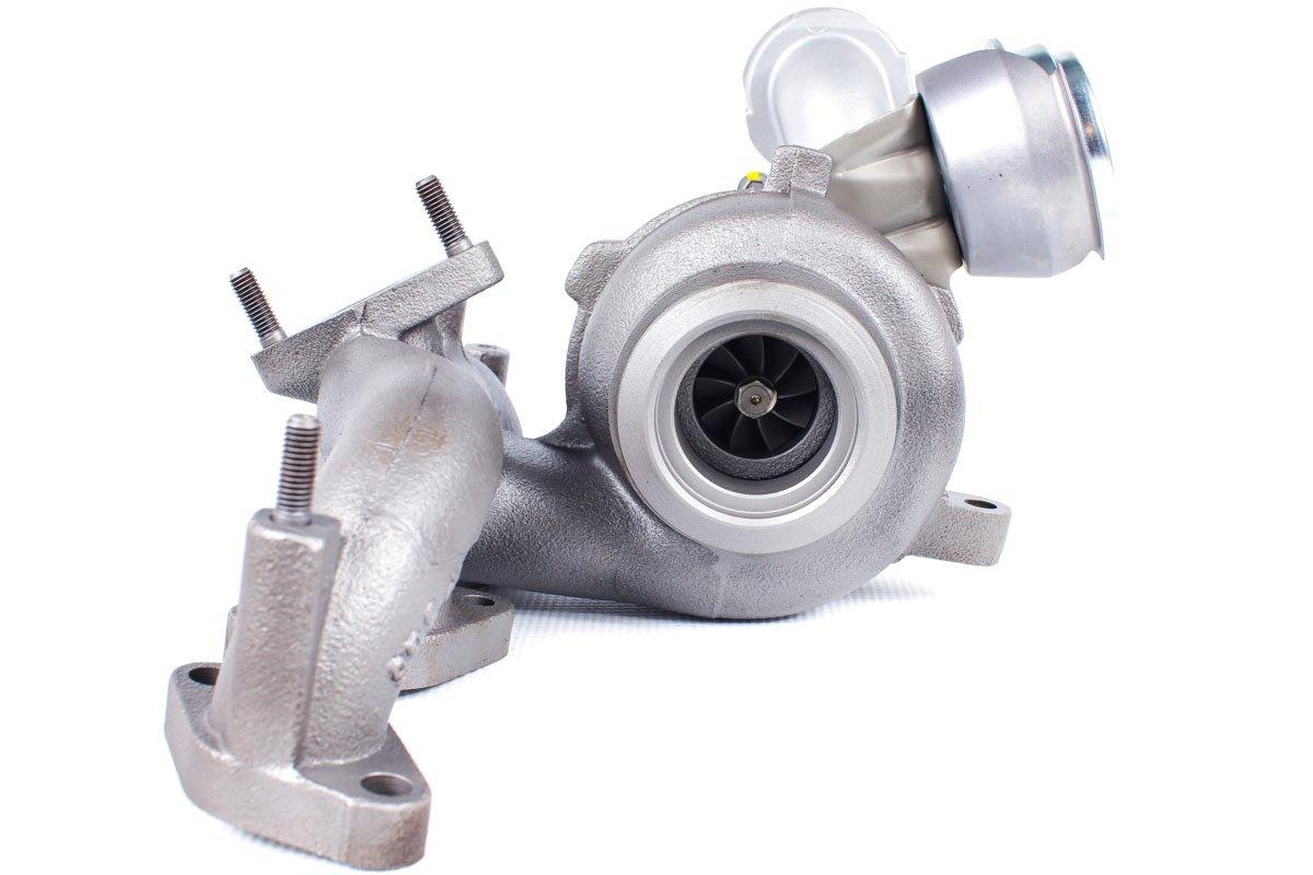 Turbo, układ doładowania o numerze {numerglowny} po przeprowadzeniu regeneracji w najwyższej jakości pracowni regeneracji turbo przed wysłaniem do warsztatu