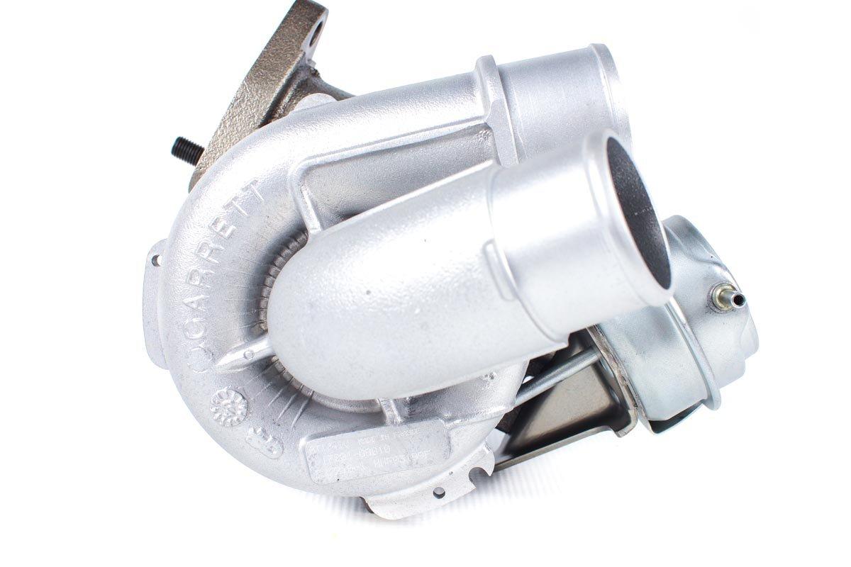 Turbosprężarka numer {numerglowny} po zregenerowaniu w najwyższej jakości pracowni regeneracji turbosprężarek przed nadaniem do zamawiającej firmy