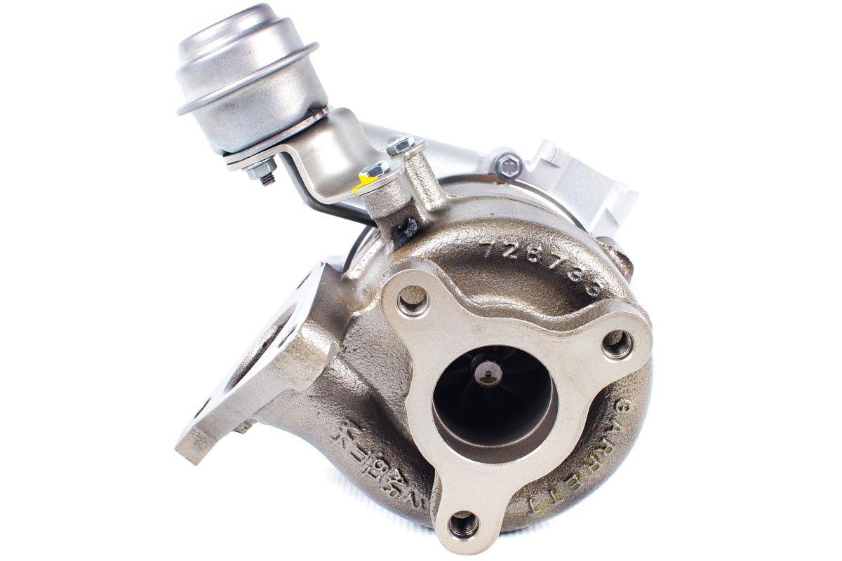 Turbosprężarka numer {numerglowny} po zregenerowaniu w najwyższej jakości pracowni regeneracji turbin przed wysłaniem do zamawiającego