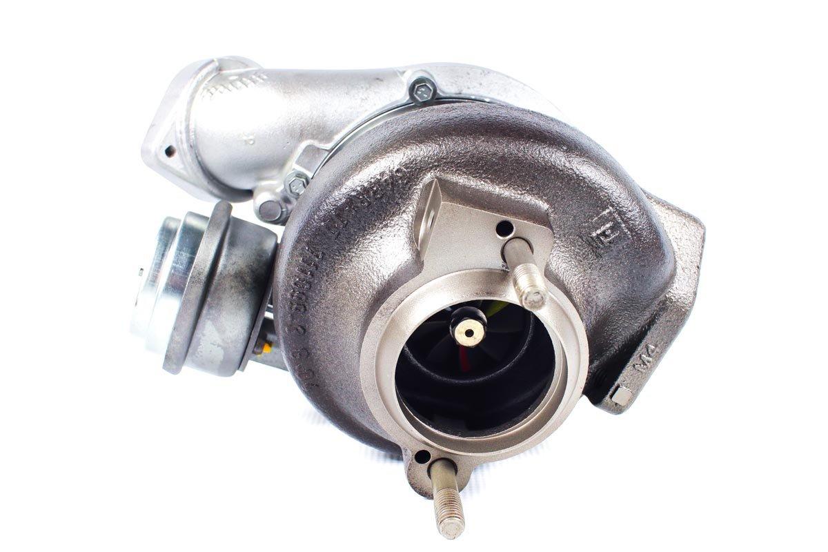 Turbo, układ doładowania o numerze {numerglowny} po przywróceniu do pełnej sprawności w najnowocześniejszej pracowni regeneracji turbosprężarek przed wysłaniem do kontrahenta