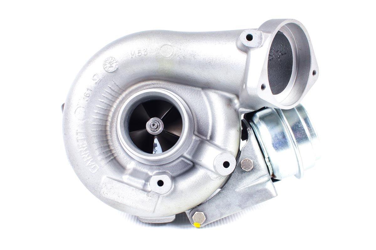 Turbosprężarka numer {numerglowny} po zregenerowaniu w najwyższej jakości pracowni regeneracji turbin przed wysłaniem do kontrahenta