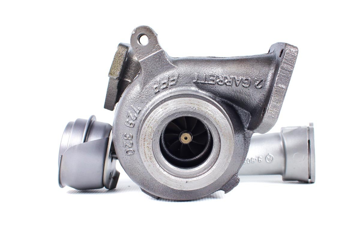 Turbo, układ doładowania o numerze {numerglowny} po przywróceniu do pełnej sprawności w najnowocześniejszej pracowni regeneracji turbosprężarek przed odesłaniem do warsztatu