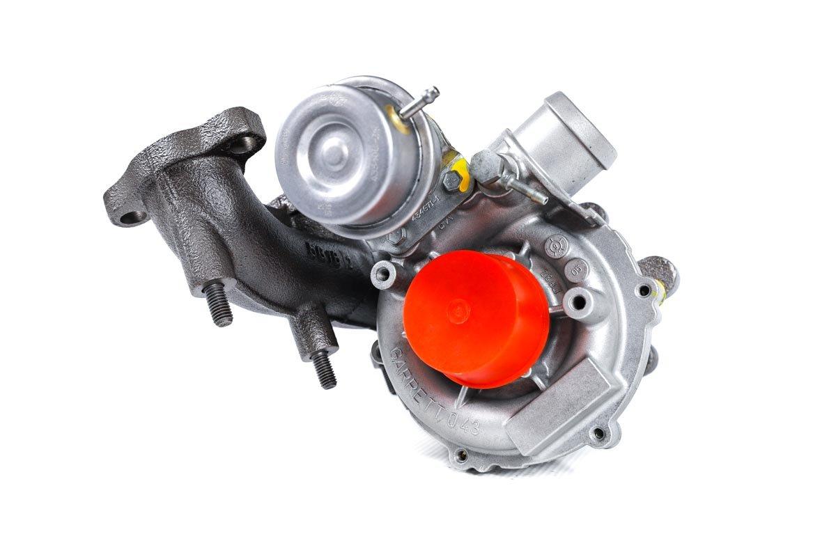 Turbina o numerze {numerglowny} po przeprowadzeniu regeneracji w specjalistycznej pracowni regeneracji turbosprężarek przed nadaniem do warsztatu samochodowego