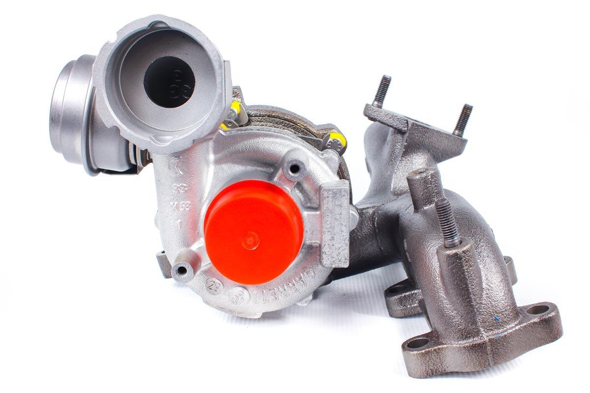 Turbosprężarka o numerze {numerglowny} po naprawie w najnowocześniejszej pracowni regeneracji turbo przed nadaniem do zamawiającej firmy