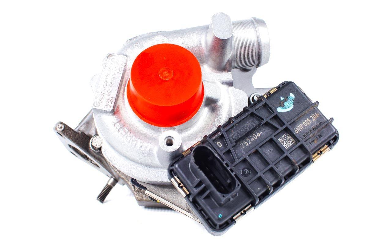 Turbosprężarka numer {numerglowny} po przeprowadzeniu regeneracji w specjalistycznej pracowni regeneracji turbo przed odesłaniem do warsztatu samochodowego