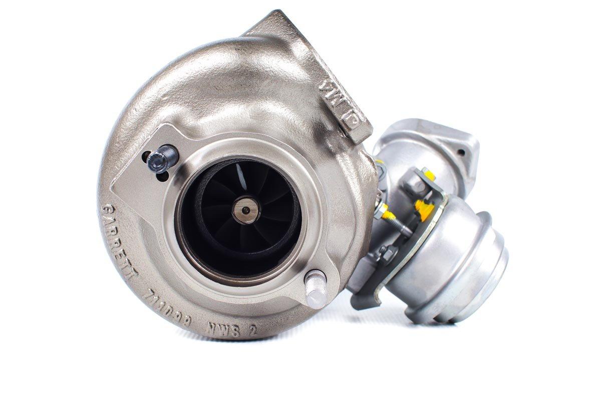 Turbo, układ doładowania o numerze {numerglowny} po przywróceniu do pełnej sprawności w profesjonalnej pracowni regeneracji turbosprężarek przed wysyłką do Klienta
