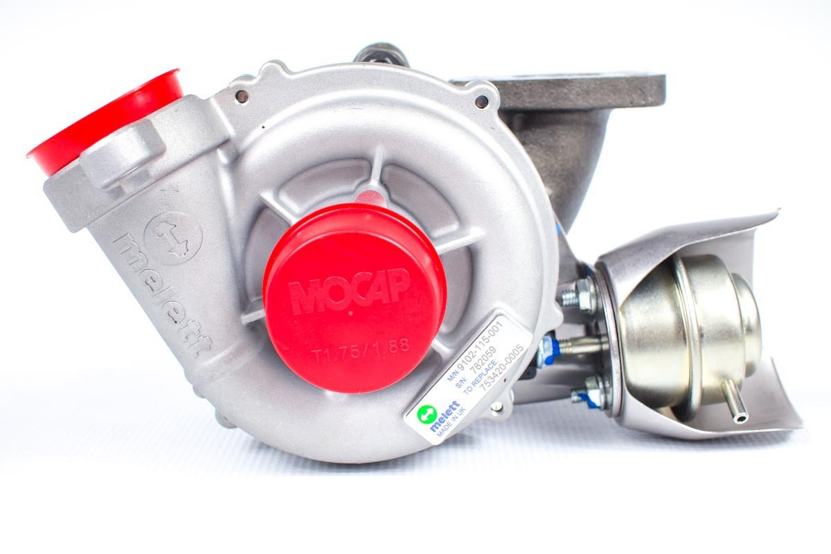 Turbosprężarka numer {numerglowny} po przeprowadzeniu regeneracji w profesjonalnej pracowni regeneracji turbosprężarek przed wysłaniem do zamawiającej firmy