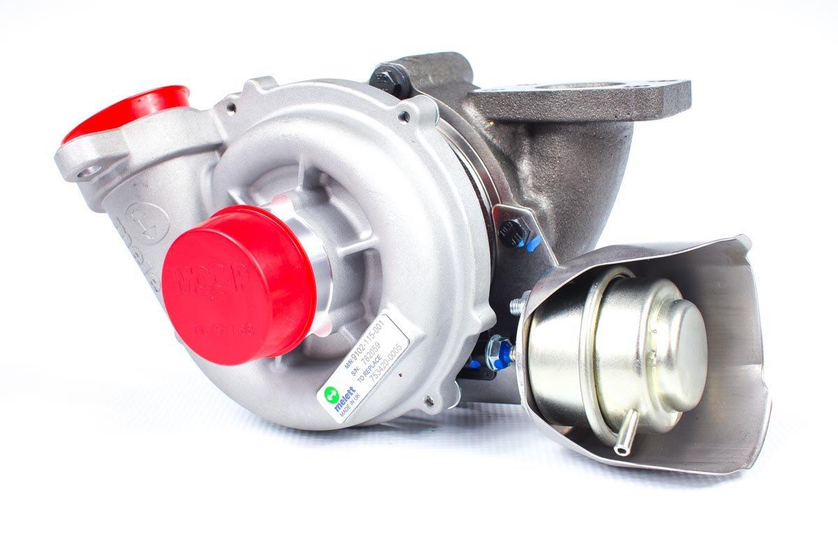 Turbina o numerze {numerglowny} po przeprowadzeniu regeneracji w najwyższej jakości pracowni regeneracji turbosprężarek przed odesłaniem do zamawiającej firmy