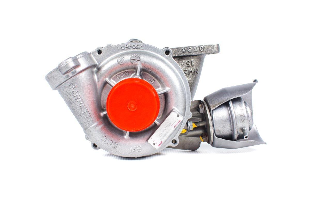 Turbosprężarka numer {numerglowny} po przeprowadzeniu regeneracji w profesjonalnej pracowni regeneracji turbin przed wysłaniem do warsztatu samochodowego