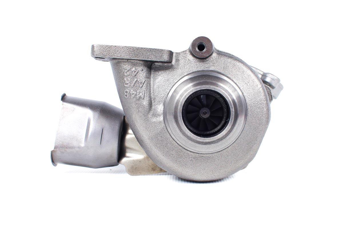 Turbo, układ doładowania o numerze {numerglowny} po przywróceniu do pełnej sprawności w najwyższej jakości pracowni regeneracji turbosprężarek przed wysłaniem do warsztatu samochodowego