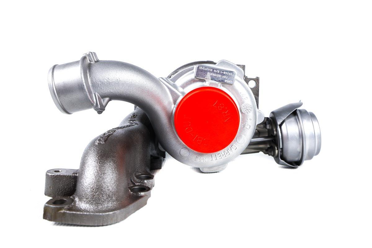 Turbosprężarka o numerze {numerglowny} po regeneracji w najnowocześniejszej pracowni regeneracji turbosprężarek przed wysyłką do zamawiającego