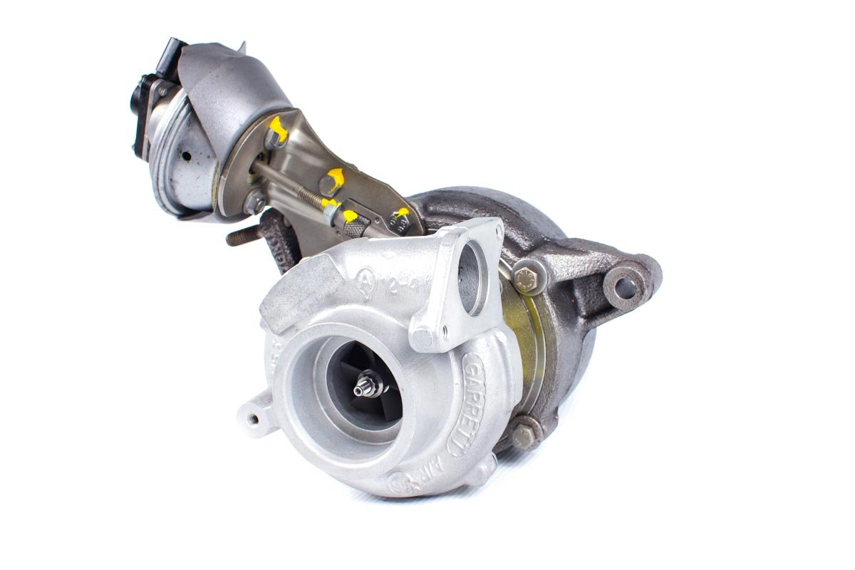 Turbosprężarka numer {numerglowny} po przeprowadzeniu regeneracji w najwyższej jakości pracowni regeneracji turbosprężarek przed wysyłką do zamawiającego
