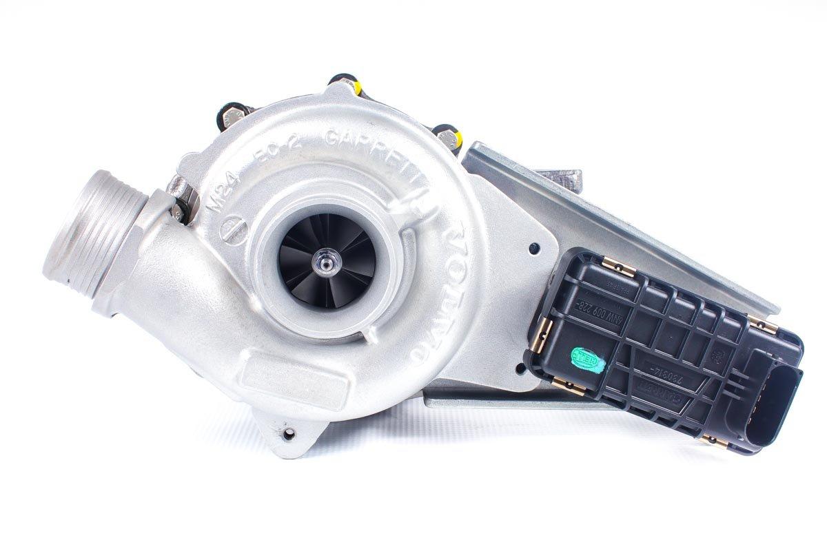 Turbina o numerze {numerglowny} po przywróceniu do pełnej sprawności w specjalistycznej pracowni regeneracji turbo przed nadaniem do warsztatu samochodowego