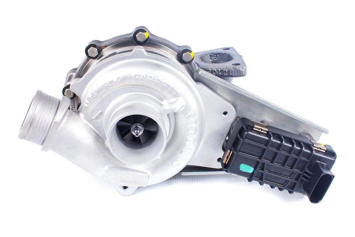 Turbo, układ doładowania o numerze {numerglowny} po naprawie w najnowocześniejszej pracowni regeneracji turbin przed odesłaniem do zamawiającej firmy