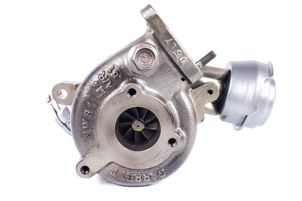 Turbo, układ doładowania o numerze {numerglowny} po naprawie w specjalistycznej pracowni regeneracji turbo przed odesłaniem do zamawiającego
