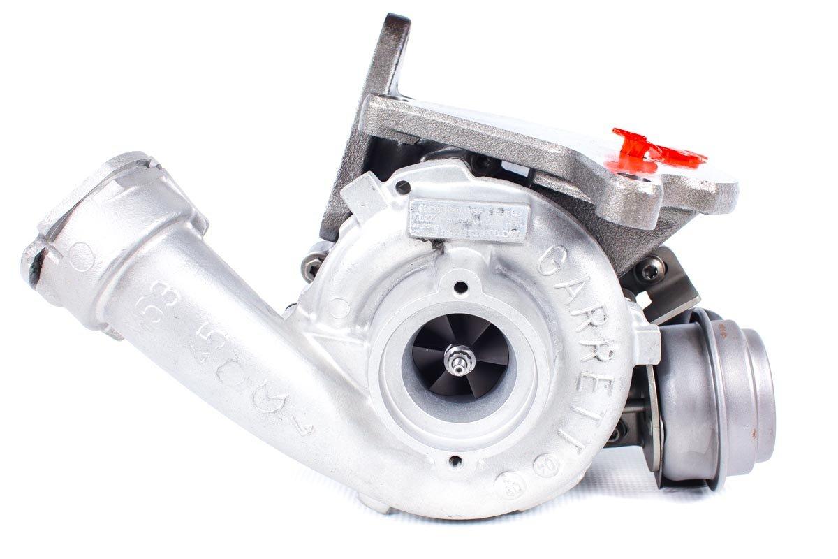 Turbosprężarka numer {numerglowny} po przywróceniu do pełnej sprawności w specjalistycznej pracowni regeneracji turbosprężarek przed wysłaniem do kontrahenta