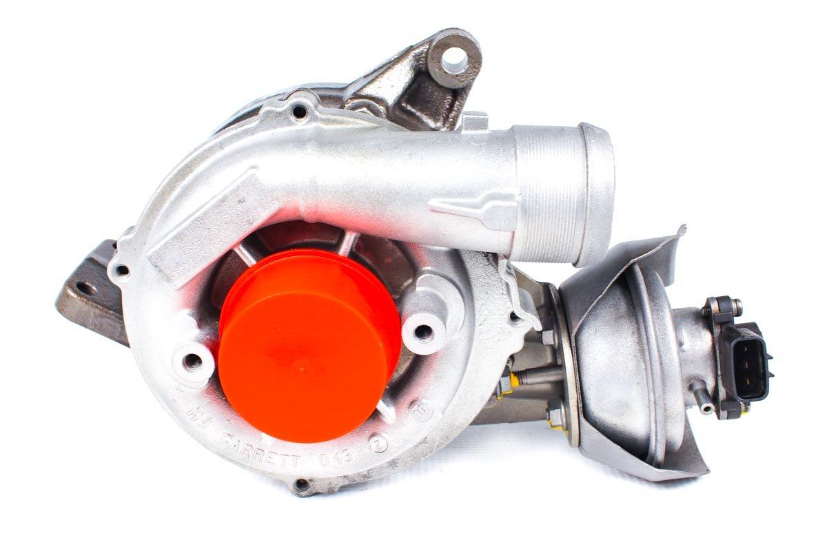 Turbosprężarka numer {numerglowny} po przywróceniu do pełnej sprawności w specjalistycznej pracowni regeneracji turbin przed odesłaniem do warsztatu