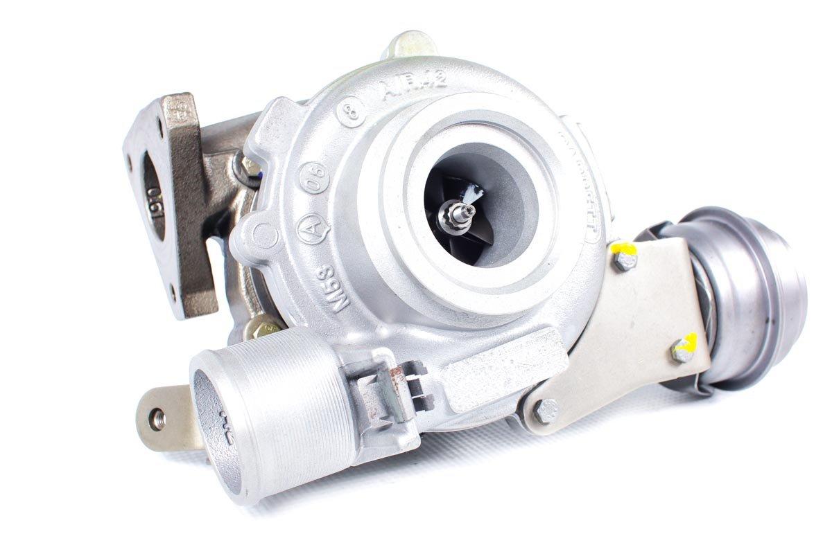 Turbina o numerze {numerglowny} po przywróceniu do pełnej sprawności w najwyższej jakości pracowni regeneracji turbosprężarek przed odesłaniem do warsztatu samochodowego