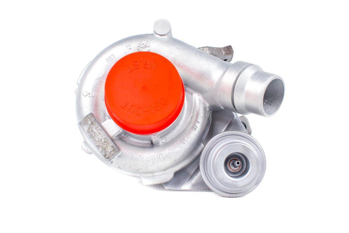 Turbosprężarka numer {numerglowny} po przywróceniu do pełnej sprawności w profesjonalnej pracowni regeneracji turbo przed wysłaniem do kontrahenta