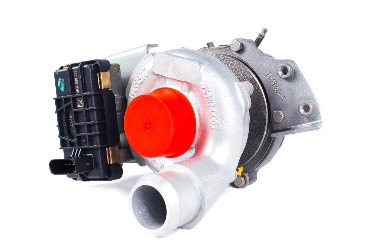 Turbina z numerem {numerglowny} po naprawie w specjalistycznej pracowni regeneracji turbosprężarek przed nadaniem do kontrahenta