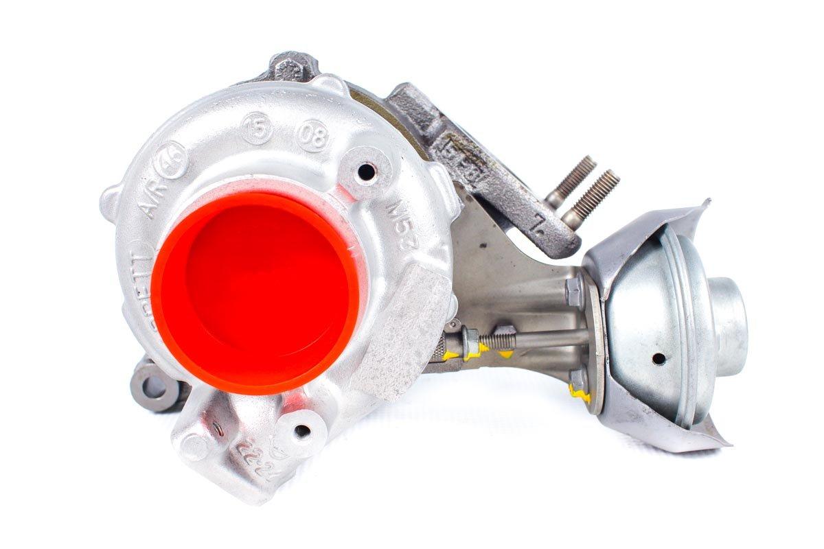 Turbosprężarka numer {numerglowny} po przywróceniu do pełnej sprawności w najwyższej jakości pracowni przed odesłaniem do kontrahenta