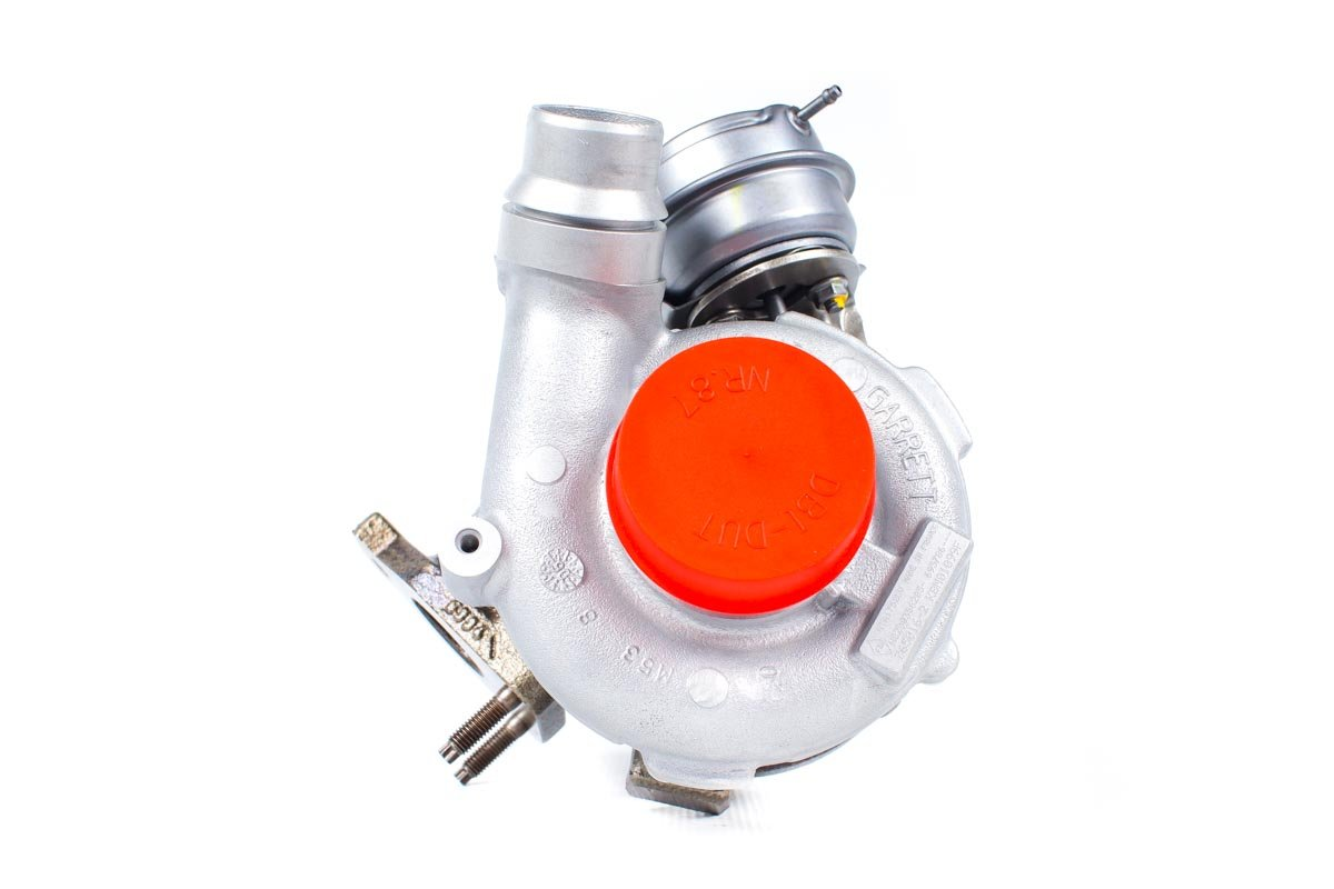 Turbosprężarka numer {numerglowny} po przywróceniu do pełnej sprawności w najwyższej jakości pracowni regeneracji turbo przed nadaniem do zamawiającej firmy