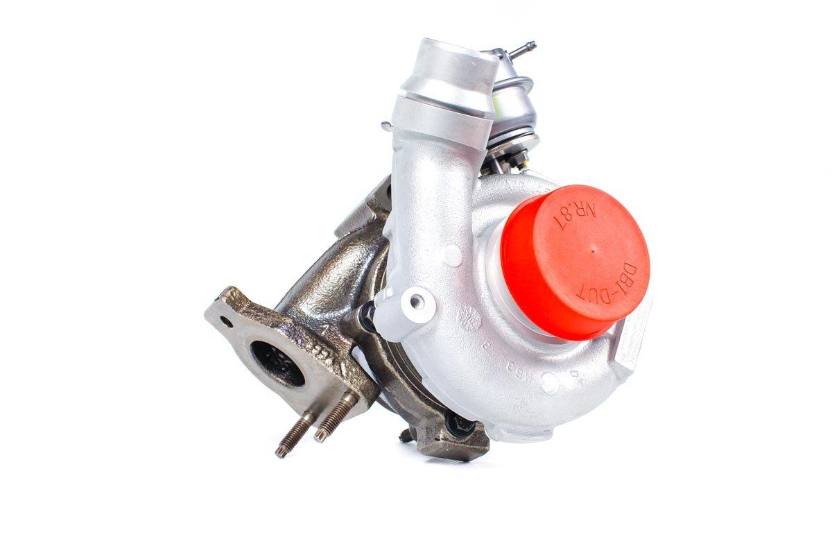Turbina o numerze {numerglowny} po naprawie w najnowocześniejszej pracowni regeneracji turbosprężarek przed nadaniem do warsztatu samochodowego