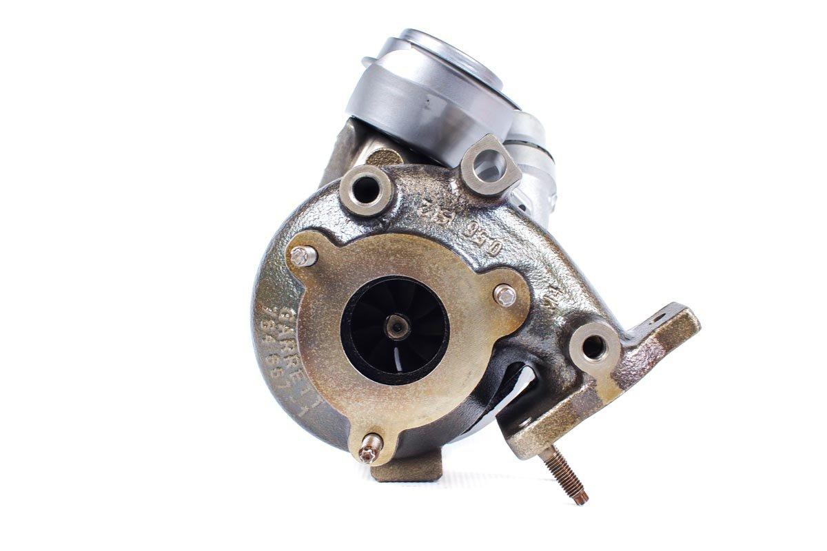 Turbo, układ doładowania o numerze {numerglowny} po naprawie w najwyższej jakości pracowni regeneracji turbin przed wysyłką do warsztatu samochodowego