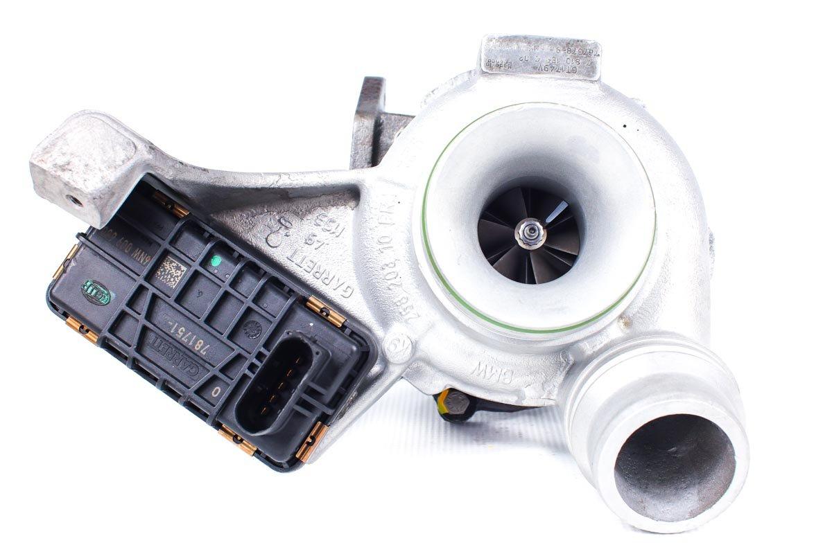 Turbosprężarka numer {numerglowny} po naprawie w najnowocześniejszej pracowni przed odesłaniem do kontrahenta