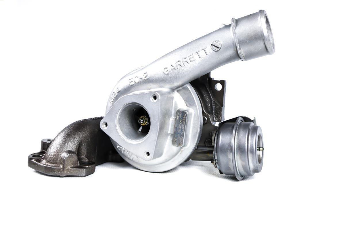 Turbosprężarka z numerem {numerglowny} po regeneracji w specjalistycznej pracowni regeneracji turbosprężarek przed odesłaniem do warsztatu
