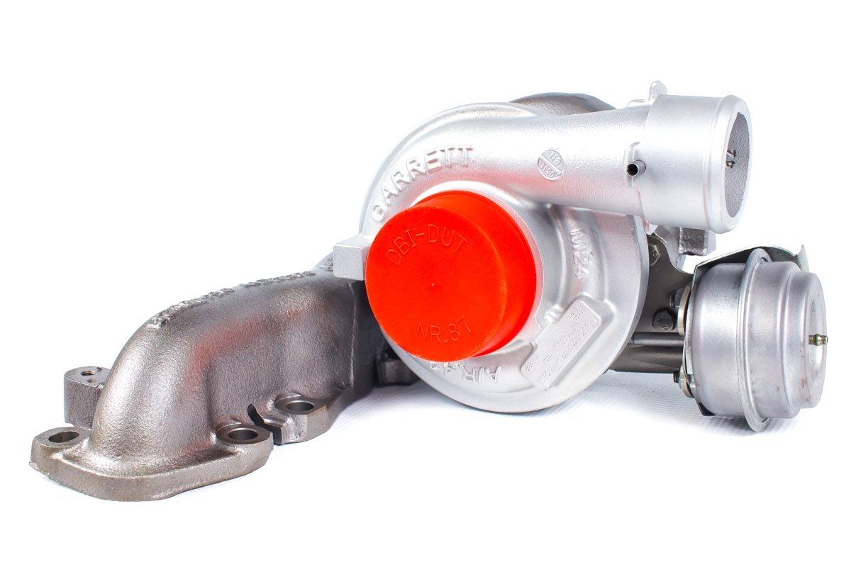 Turbina o numerze {numerglowny} po naprawie w specjalistycznej pracowni regeneracji turbo przed odesłaniem do kontrahenta