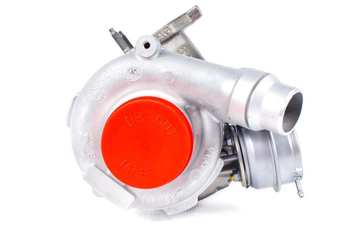 Turbosprężarka numer {numerglowny} po naprawie w najnowocześniejszej pracowni regeneracji turbo przed odesłaniem do kontrahenta