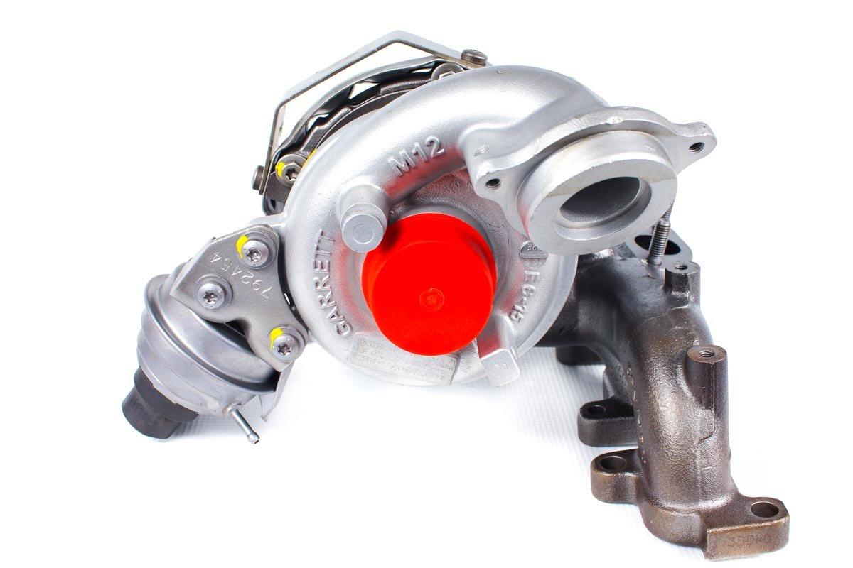 Turbosprężarka numer {numerglowny} po naprawie w specjalistycznej pracowni przed wysyłką do warsztatu samochodowego