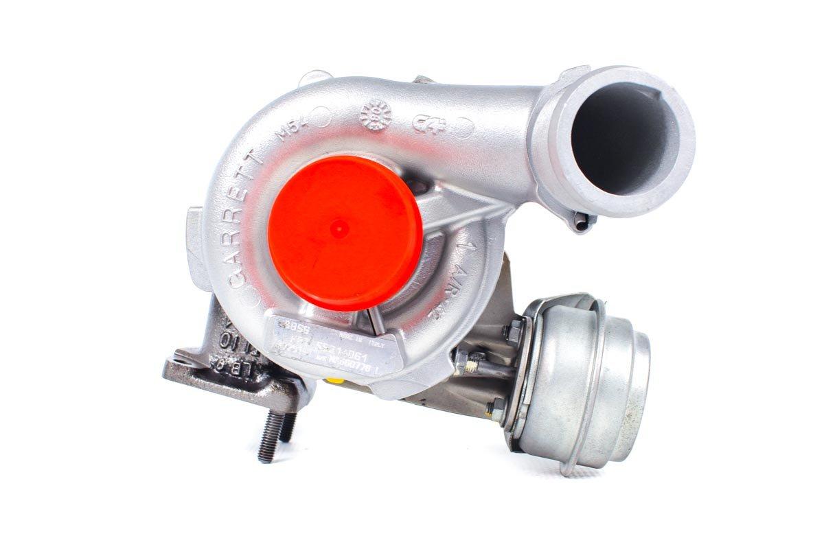 Turbosprężarka numer {numerglowny} po naprawie w specjalistycznej pracowni regeneracji turbosprężarek przed wysłaniem do warsztatu