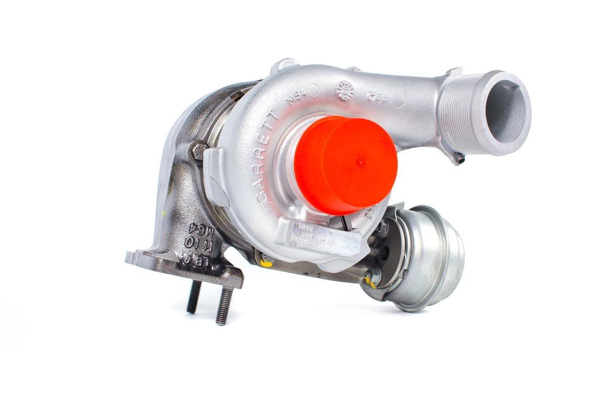 Turbina o numerze {numerglowny} po naprawie w profesjonalnej pracowni regeneracji turbosprężarek przed odesłaniem do Klienta