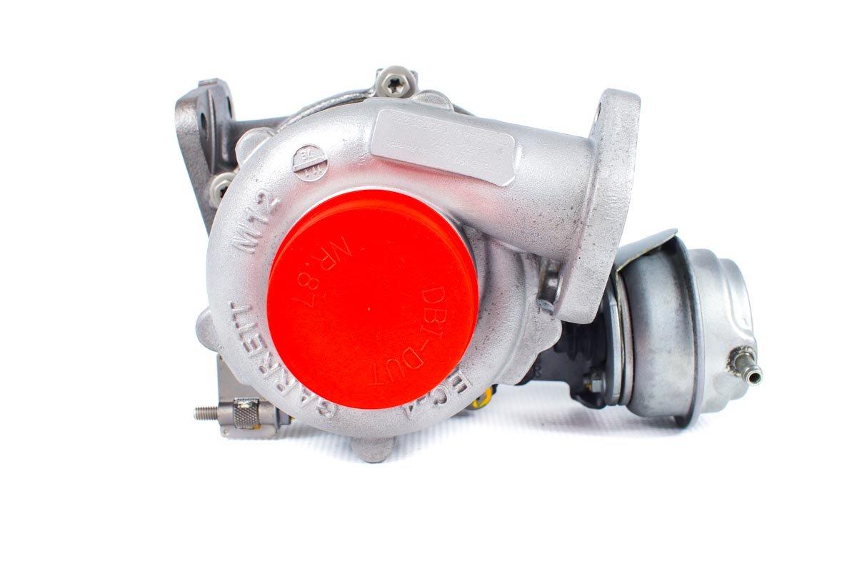 Turbosprężarka z numerem {numerglowny} po regeneracji w najnowocześniejszej pracowni regeneracji turbin przed wysłaniem do zamawiającego