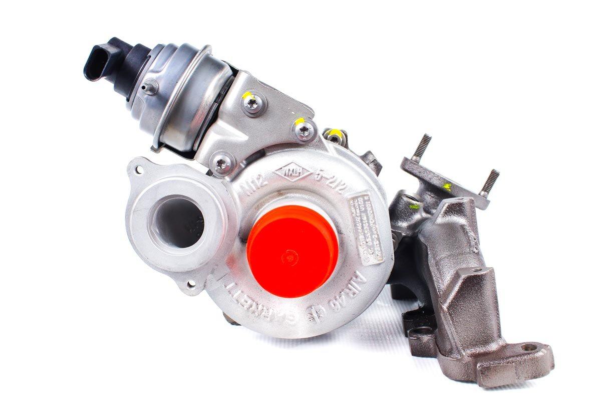 Turbosprężarka numer {numerglowny} po naprawie w specjalistycznej pracowni regeneracji turbo przed wysłaniem do warsztatu
