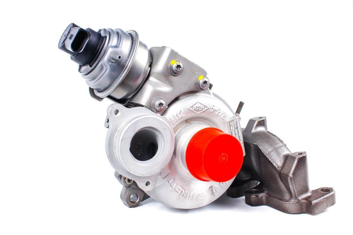 Turbina o numerze {numerglowny} po naprawie w najwyższej jakości pracowni regeneracji turbosprężarek przed wysłaniem do kontrahenta