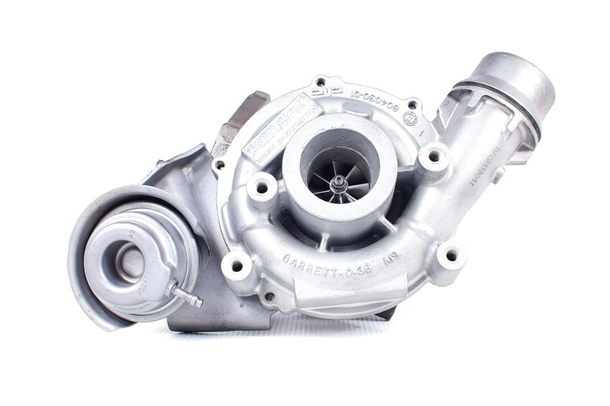 Turbosprężarka numer {numerglowny} po naprawie w profesjonalnej pracowni regeneracji turbin przed wysłaniem do warsztatu samochodowego