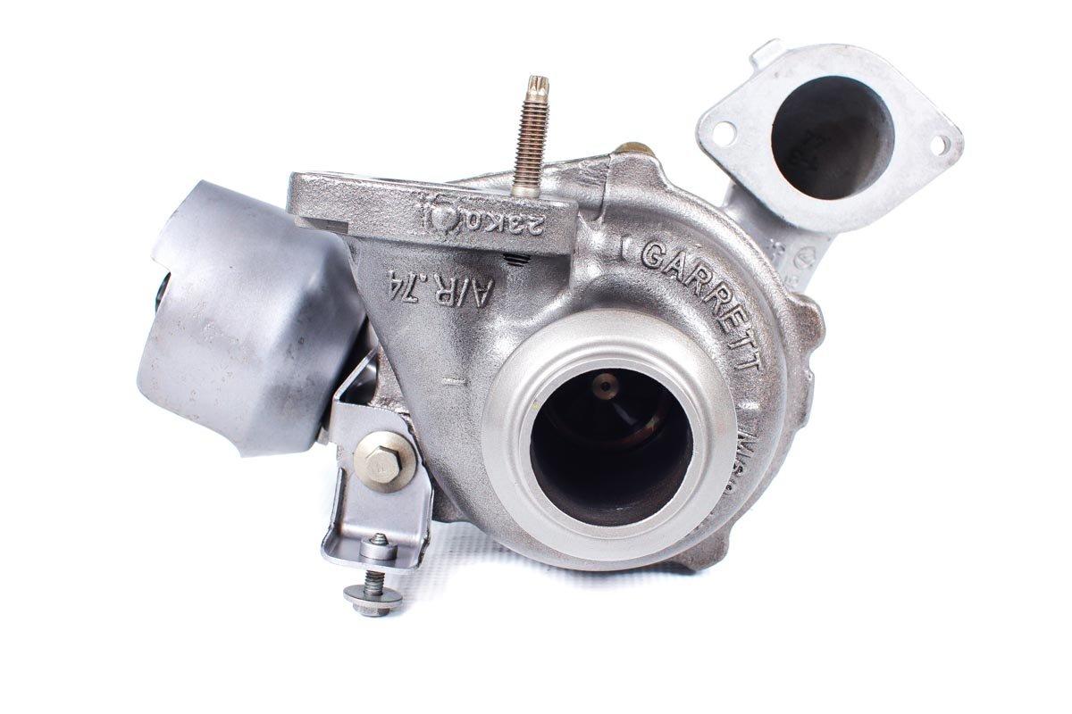 Turbosprężarka numer {numerglowny} po naprawie w najwyższej jakości pracowni regeneracji turbosprężarek przed wysyłką do zamawiającego