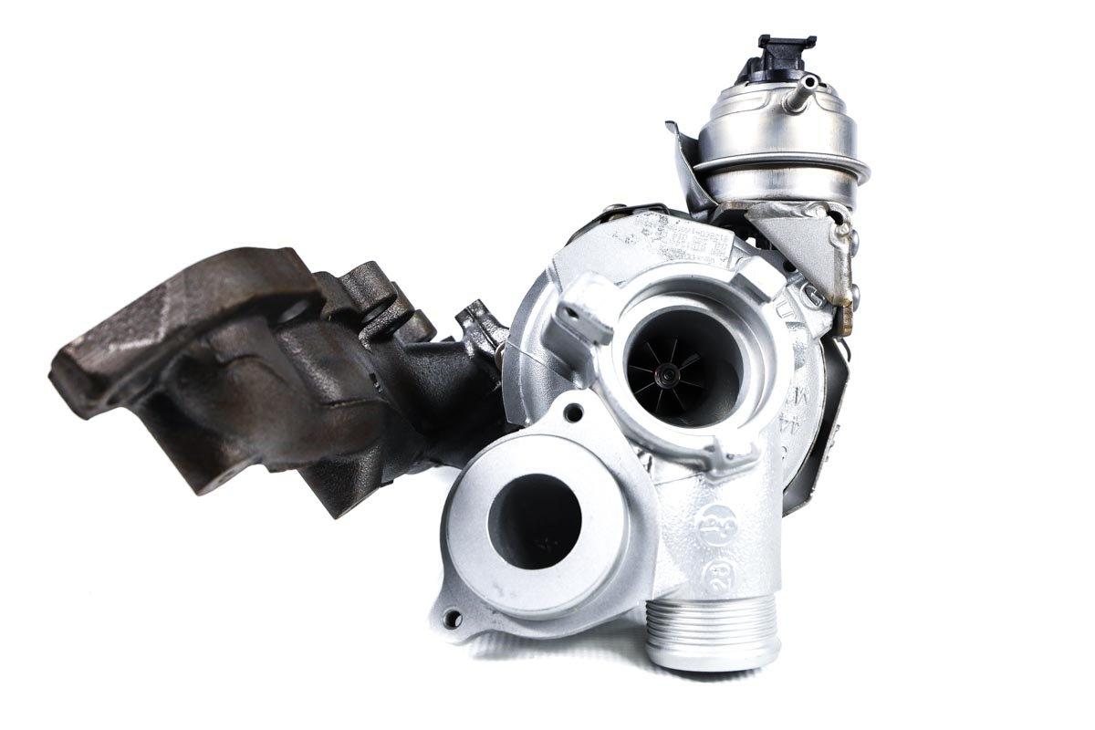 Turbosprężarka numer {numerglowny} po naprawie w najwyższej jakości pracowni regeneracji turbo przed nadaniem do warsztatu samochodowego