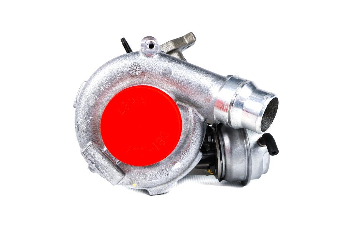 Turbosprężarka z numerem {numerglowny} po regeneracji w najnowocześniejszej pracowni regeneracji turbosprężarek przed odesłaniem do warsztatu samochodowego