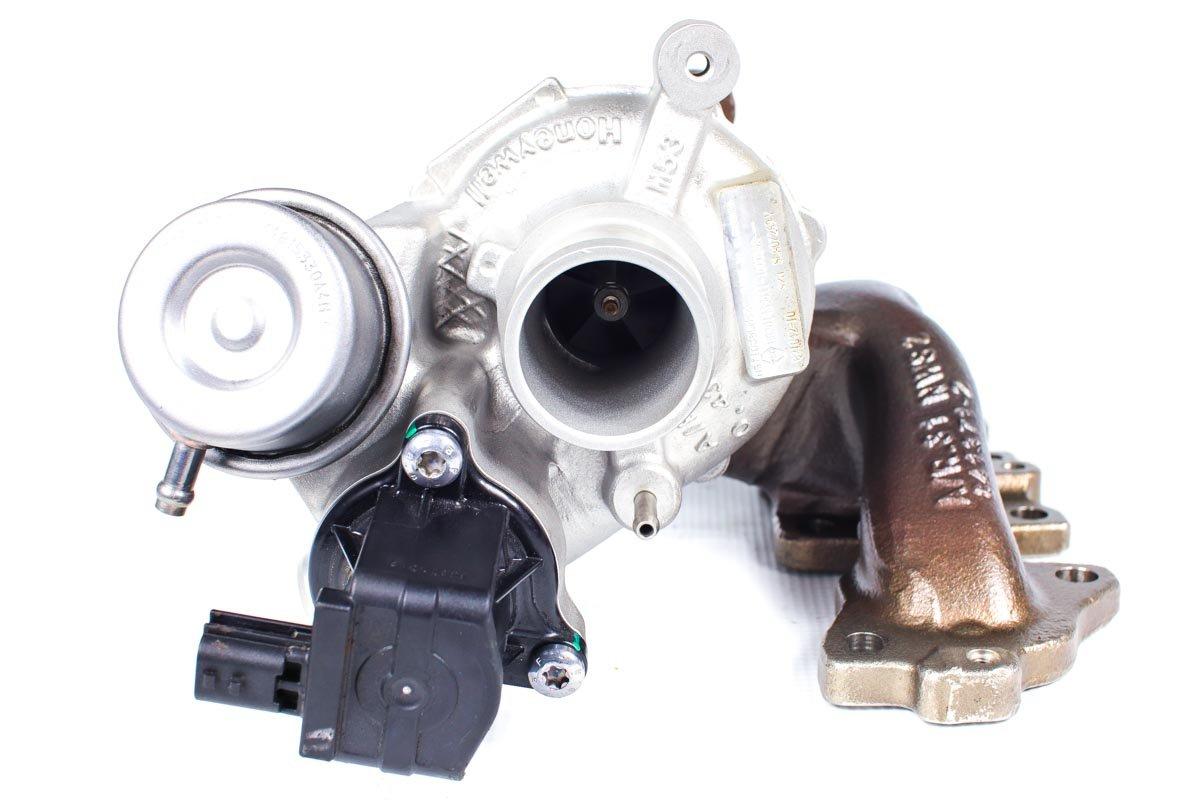 Turbosprężarka numer {numerglowny} po naprawie w najwyższej jakości pracowni regeneracji turbin przed odesłaniem do warsztatu samochodowego