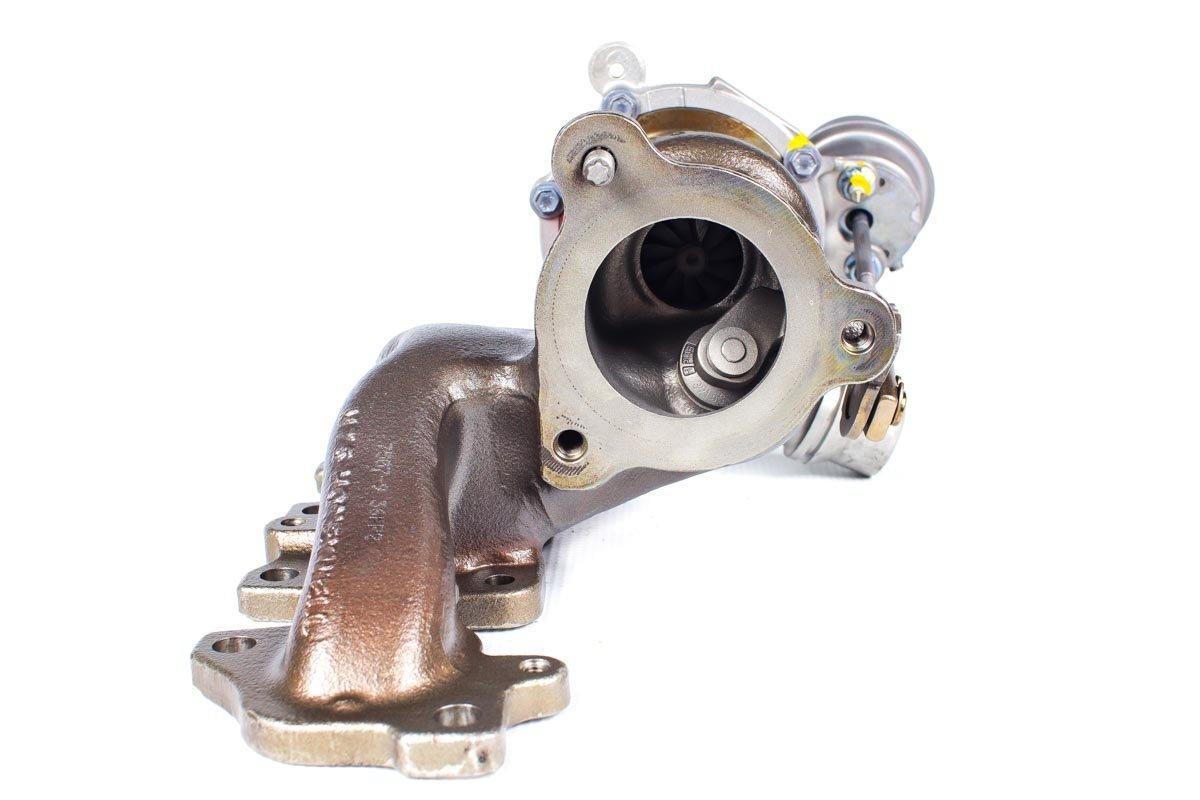 Turbo z numerem {numerglowny} po regeneracji w najwyższej jakości pracowni regeneracji turbosprężarek przed wysłaniem do warsztatu samochodowego