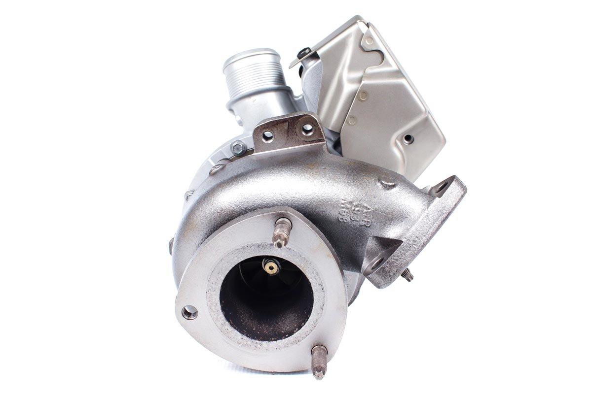 Turbo, układ doładowania numer {numerglowny} po zregenerowaniu w najnowocześniejszej pracowni regeneracji turbo przed nadaniem do warsztatu