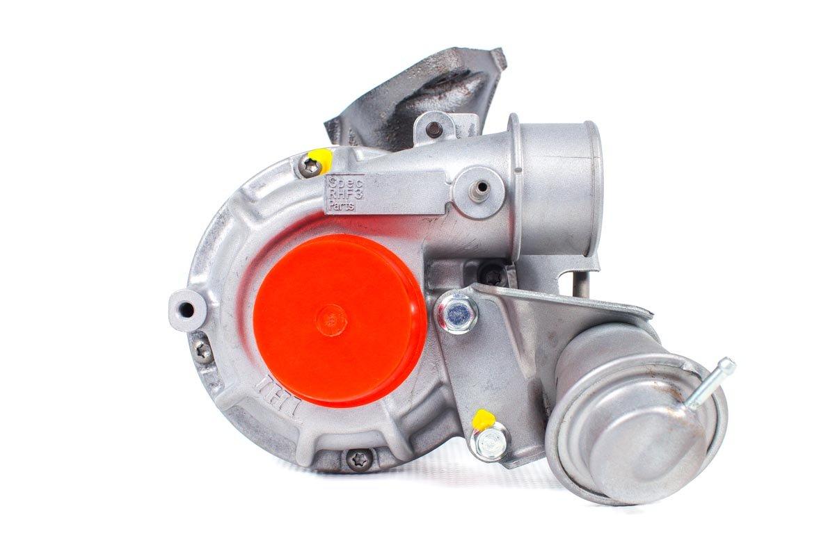 Turbosprężarka z numerem {numerglowny} po regeneracji w najnowocześniejszej pracowni regeneracji turbosprężarek przed wysyłką do zamawiającego
